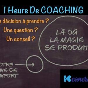Coaching 1heure